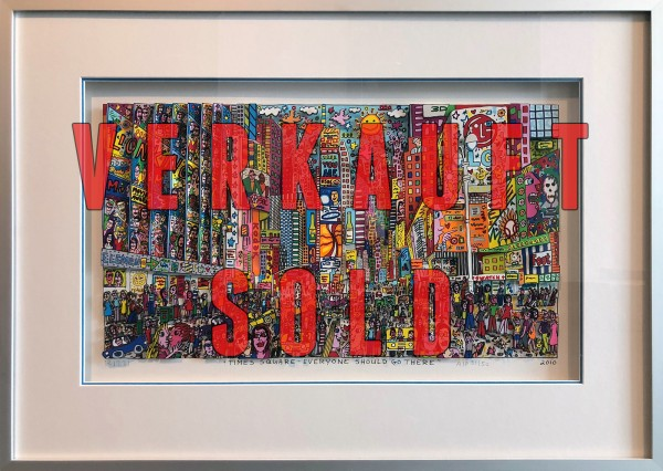 TIMES SQUARE - EVERYONE SHOULD GO THERE (2010) - JAMES RIZZI