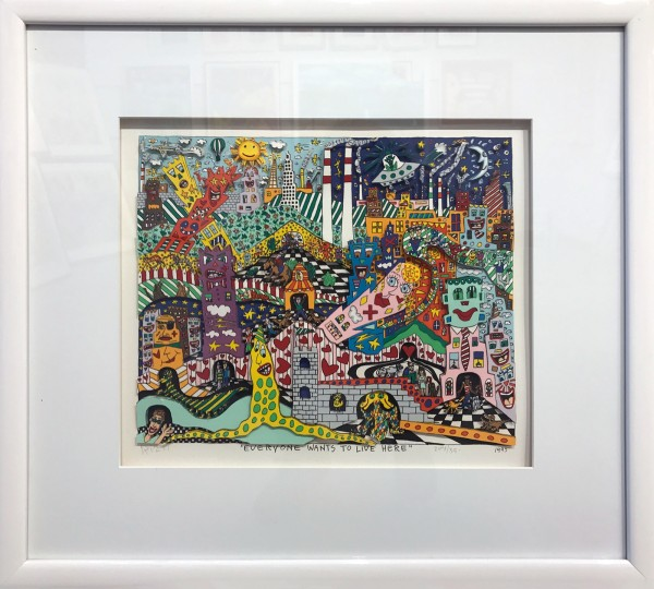 EVERYONE WANTS TO LIVE HERE (1993) - JAMES RIZZI
