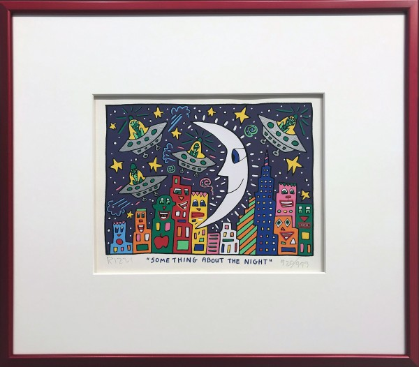 SOMETHING ABOUT THE NIGHT (1992) - JAMES RIZZI