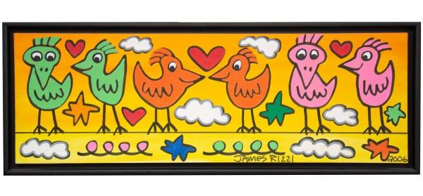 LOVE BIRDS ON A WIRE - UNIKAT (2006) - JAMES RIZZI