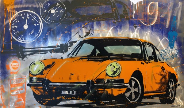 911 LEGEND ORANGE - MICHEL FRIESS