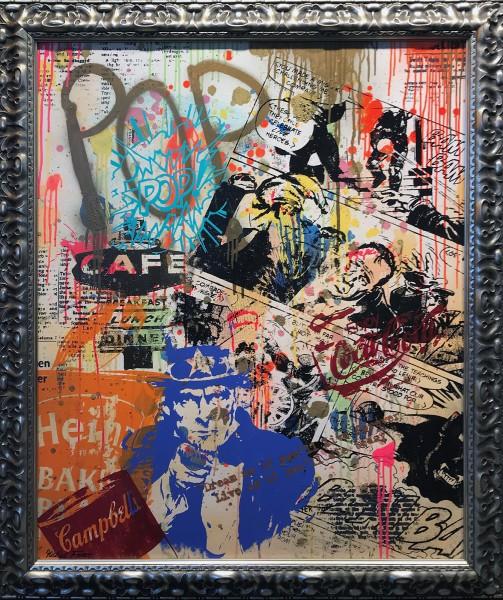 LITTLE CRAZY POP - LEINWAND - Michel Friess