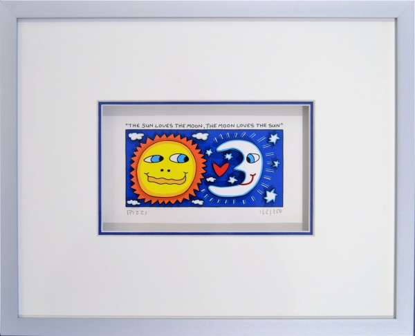 THE SUN LOVES THE MOON, THE MOON LOVES THE SUN (2014) - James Rizzi