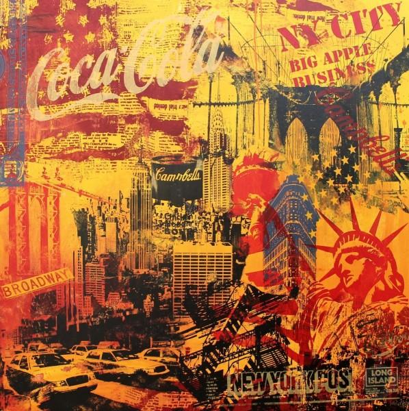 BIG YELLOW NEW YORK - Michel Friess