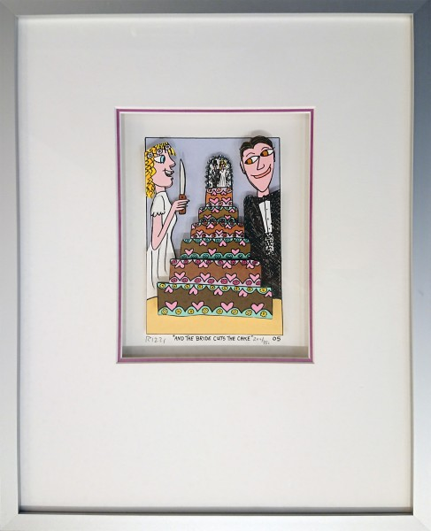 AND THE BRIDE CUTS THE CAKE (2005) - JAMES RIZZI