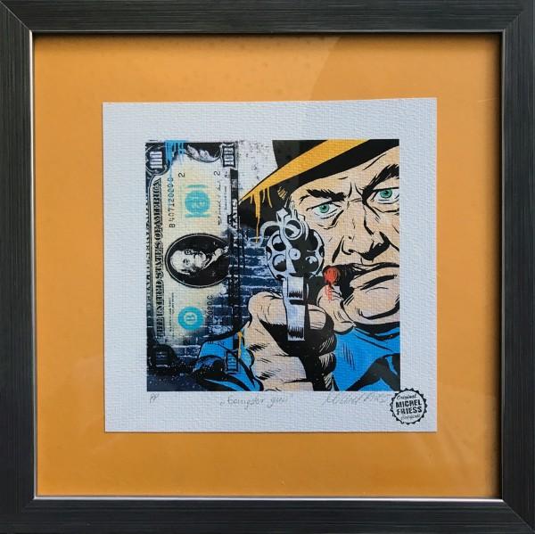 GANGSTER GUN - Fine Art Paper - Michel Friess
