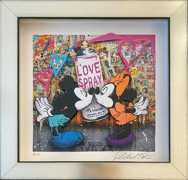 MICKEY LOVESPRAY MINI - FINE ART EDITION - 3D