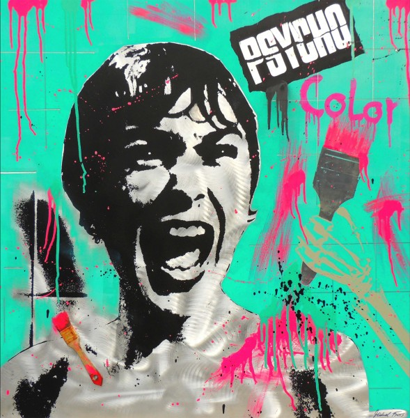 PSYCHO COLOR - ALUMINIUM - Michel Friess