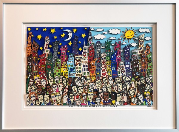 MAKE FRIENDS WITH LIFE AND PEOPLE (1996) - JAMES RIZZI