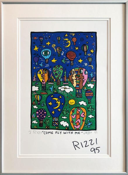 COME FLY WITH ME (1993) - JAMES RIZZI