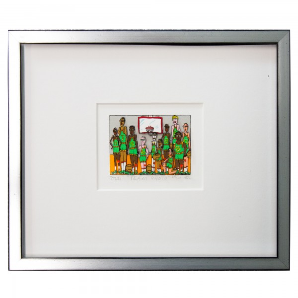 TEAM PHOTO (GREEN) (1988) - JAMES RIZZI