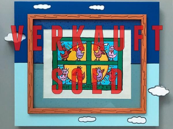 BIRDS IN A WINDOW (1994) - JAMES RIZZI