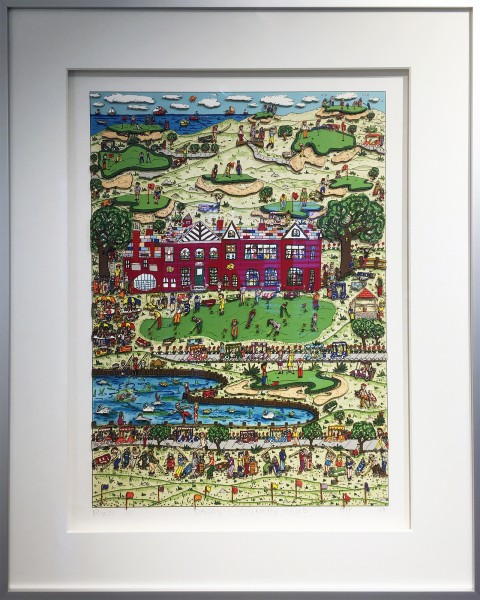 DADDY'S COUNTRY CLUB (1989) AP - James Rizzi