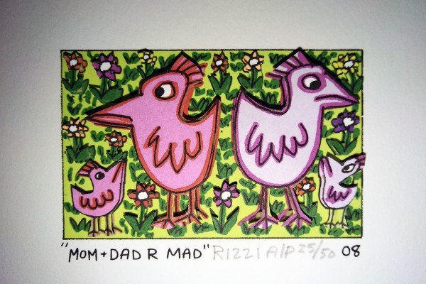 MOM+DAD R MAD (2008) - JAMES RIZZI