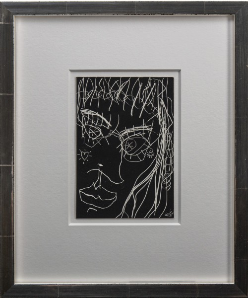STARRY EYED WOMAN (ca 1972 - 1974) JAMES RIZZI