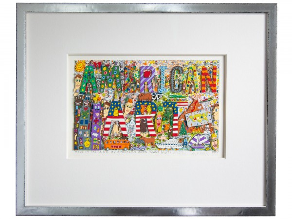 MADE IN THE U.S.A. BY BROOKLYN BORN JAMES RIZZI (1997) - JAMES RIZZI