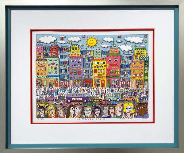 BE A GOOD SPORT (1998) - JAMES RIZZI