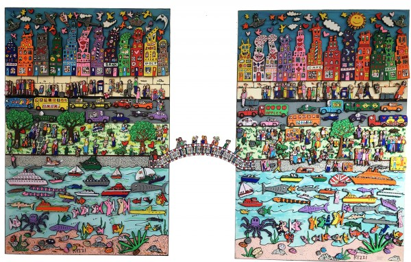 EASY LIVING ON A SUNNY SUNDAY AFTERNOON (1999) #1 - MAGNET - JAMES RIZZI
