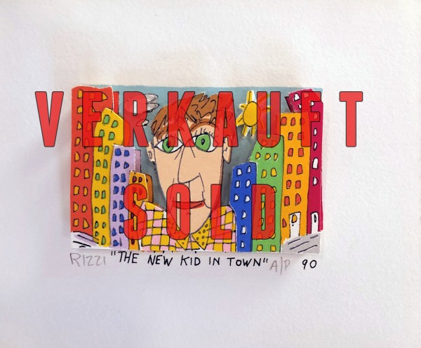 THE NEW KID IN TOWN (1990) - JAMES RIZZI