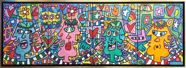 FLOWERS FOR YOUR FRIENDS+LOVERS - UNIKAT - QUADRICHON (2008) - JAMES RIZZI
