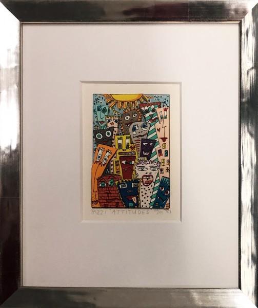 ATTITUDES (1987) - JAMES RIZZI