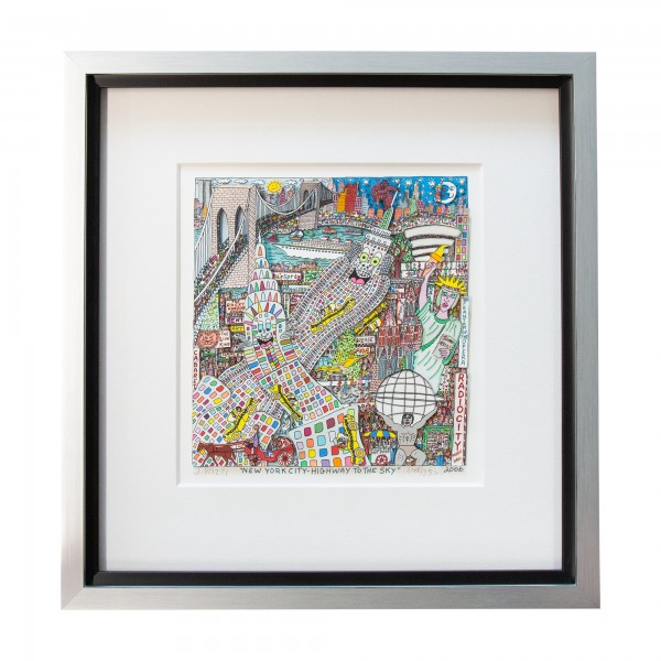 NEW YORK CITY HIGHWAY TO THE SKY (2006) - JAMES RIZZI