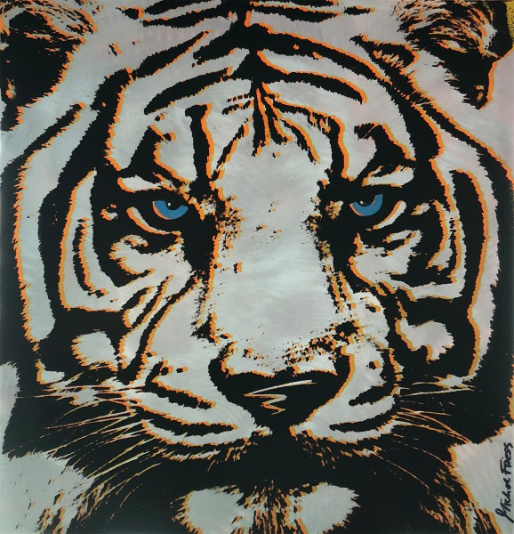 BLUE EYED TIGER - MICHEL FRIESS