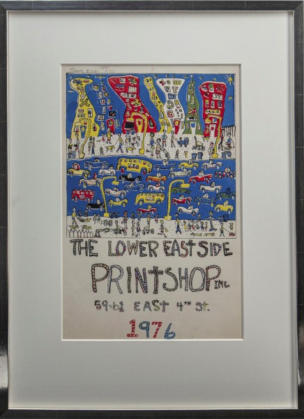 THE LOWER EASTSIDE PRINTSHOP (1976) - JAMES RIZZI