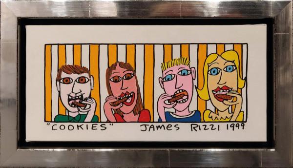 COOKIES (1999) UNIKAT - JAMES RIZZI