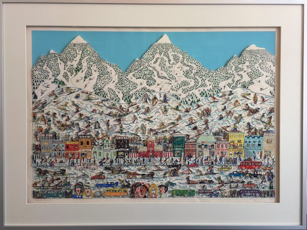 IT'S THE ALTITUDE (1989) - James Rizzi