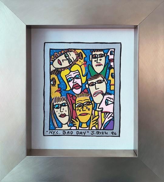 N.Y.C. BAD DAY - UNIKAT (1996) - JAMES RIZZI