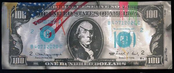 100 DOLLAR BILL - MICHEL FRIESS