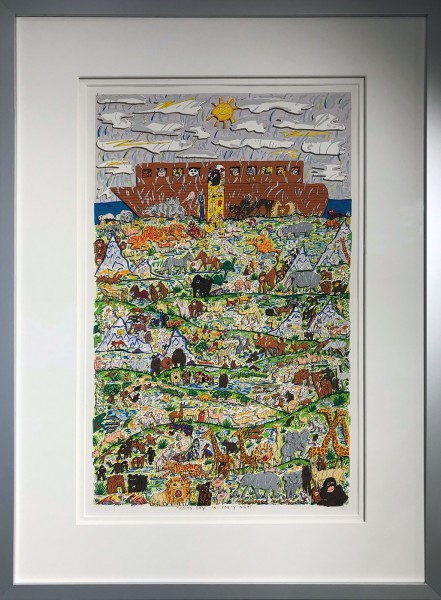 FORTY DAYS, AND FORTY NIGHTS (1990) - JAMES RIZZI
