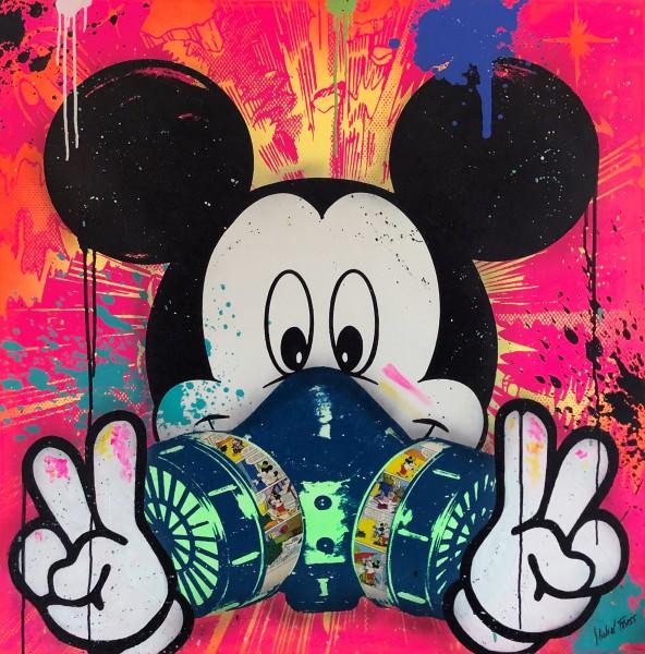 MICKEY GRAFFITI MASK - MICHEL FRIESS