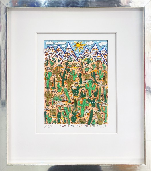 WAITING FOR THE SUN (1989) - JAMES RIZZI