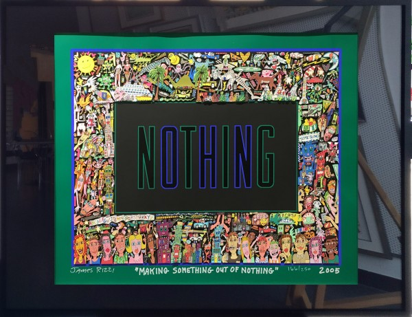 Making something out of Nothing (2005) - James Rizzi