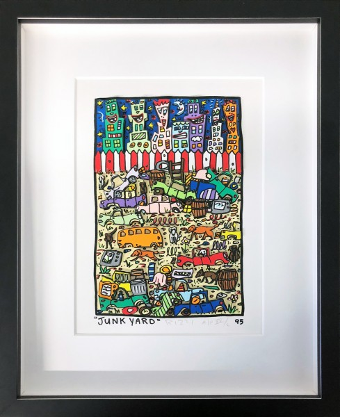 JUNK YARD (1995) - JAMES RIZZI
