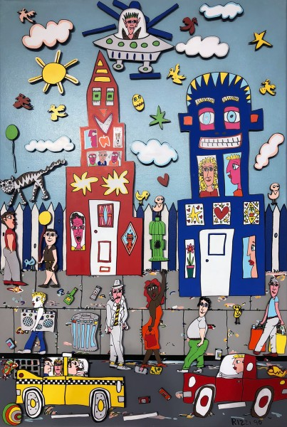 MOVIN ON - MAGNET - JAMES RIZZI (1990)