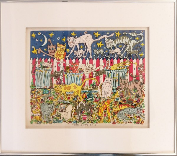 JUNKYARD CATS (1989) - JAMES RIZZI