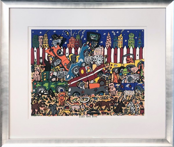 JUNKYARD DOGS (1989) - JAMES RIZZI