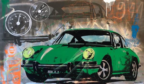 911 LEGEND GREEN - ALUMINIUM - Michel Friess