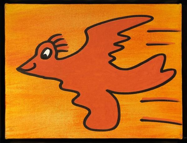 ORANGE BIRD (1999) - JAMES RIZZI