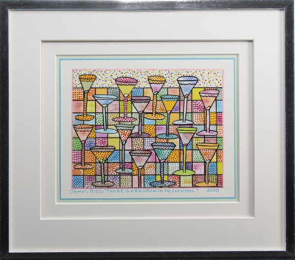THERE IS A RAINBOW IN MY COCKTAIL (2005) UNIKAT - JAMES RIZZI