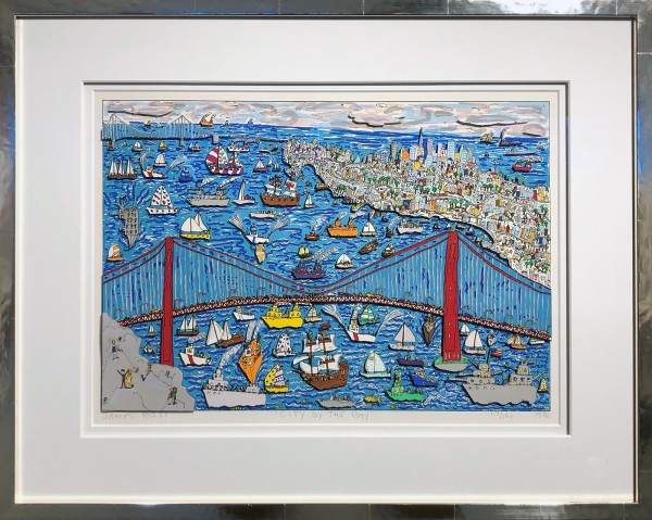 CITY BY THE BAY (1986) - JAMES RIZZI