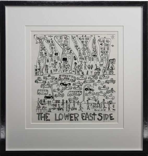 THE LOWER EASTSIDE (1976) JAMES RIZZI