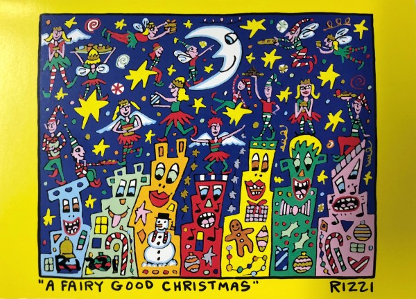 A FAIRY GOOD CHRISTMAS (2008) - JAMES RIZZI
