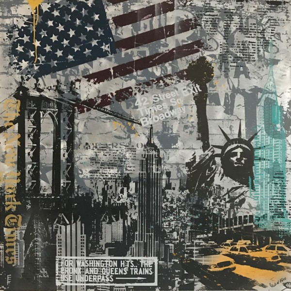 GREY NEW YORK - ALUMINIUM - Michel Friess
