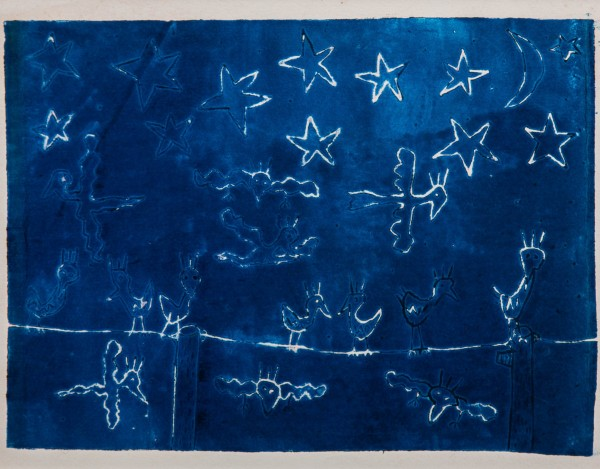 NIGHT BIRDS BLUE (1980) - JAMES RIZZI