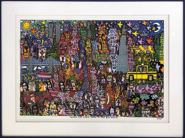 WHEN THE COWS COME TO THE BIG APPLE (2000) - JAMES RIZZI