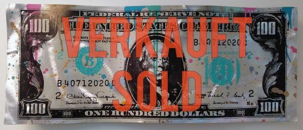 100 DOLLAR BILL - ALUMINIUM - Michel Friess
